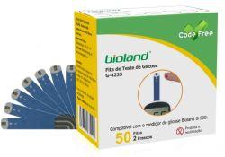 Fita para Medição de Glicose  - G-423S - CODE Free -  para o   G500 Bioland